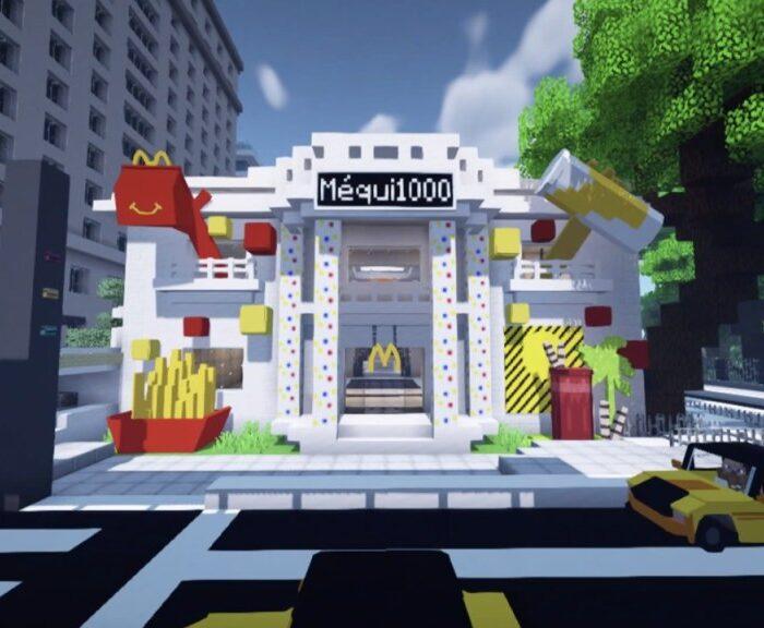McDonald's apre un ristorante all'interno di Minecraft e The Sims 4