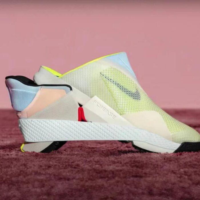 Guarda Nike, senza mani!