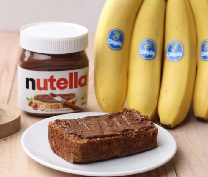 Nutella e Chiquita: una dolce partnership